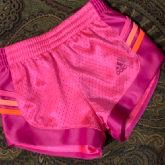 adidas Other - Adidas pink active shorts sz 12 months